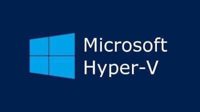 """Microsoft Logo """"hyper V"""""""
